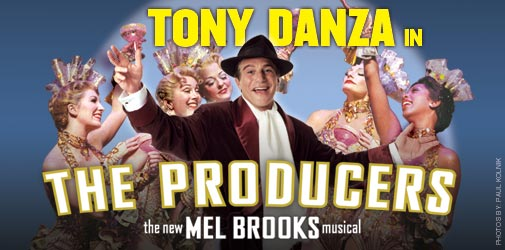 Tony Mother Fucking Danza in The Producers