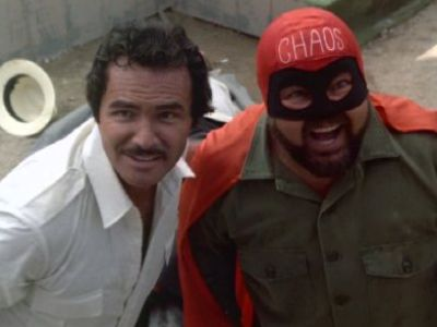 Burt Reynolds and Dom DeLuise in The Cannonball Run